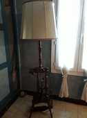 lampadaire bois pied façon touret 20 Saint-Rémy-de-Provence (13)