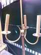 Lampadaire bronze 3 lamps Meubles