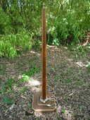 Lampadaire art déco en bois 65 Castres (81)