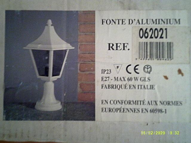 lampadaire d extérieur  60 Froideconche (70)