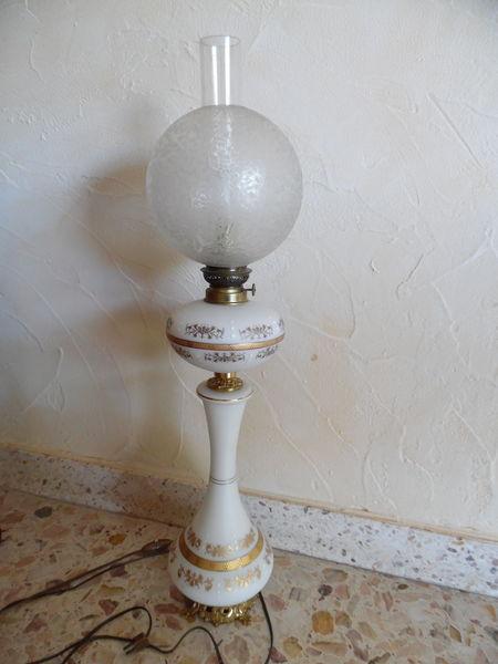 Lampadaire Porcelaine Lampe Décoration Collection Antiquaire 103 Valence (26)