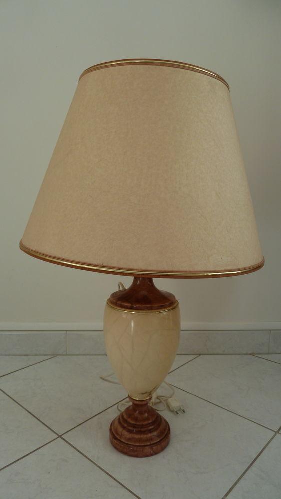 Lampe en albâtre  40 Châteauneuf-les-Martigues (13)