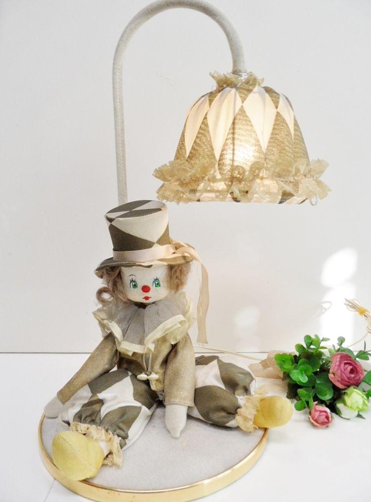Insolite Lampe Rare Atypique Retro Ancienne Clown Tbe ybf6YI7gv