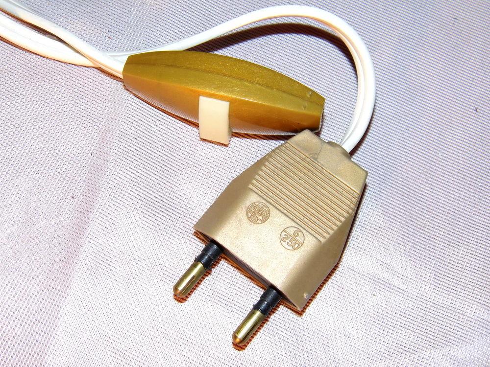 Prise Lampe Vintage Interrupteur Électrique Fil Ancienne CEQxodWBre