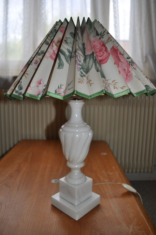 Lampe ancienne 20 Amiens (80)