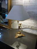 Lampe  angelot bronze 20 Toulouse (31)
