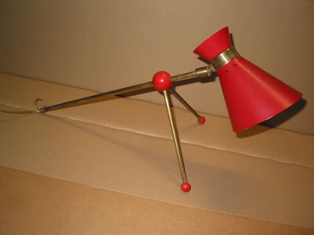 Lampe applique diabolo dans le pur style des années 50 Guari 200 Marseille 13 (13)