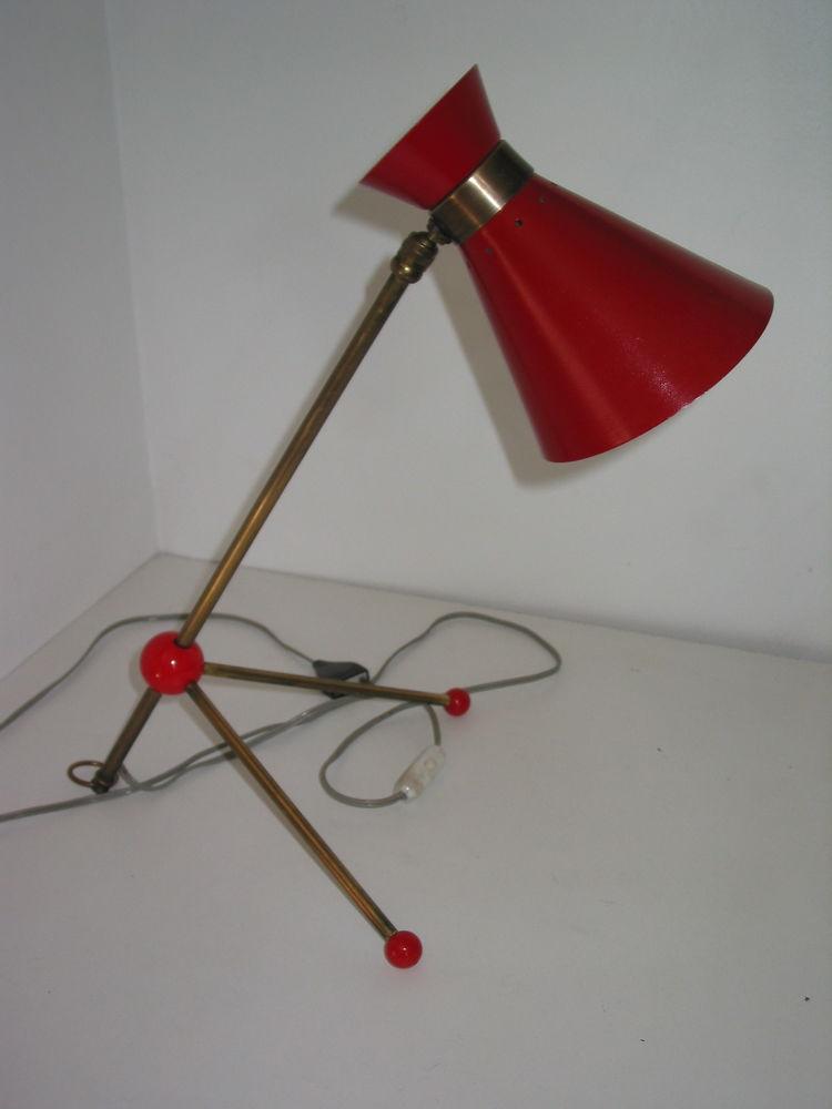 1 une Lampe applique diabolo Guariche, OTTO KOLB ,Mathieu, B 165 Marseille 13 (13)