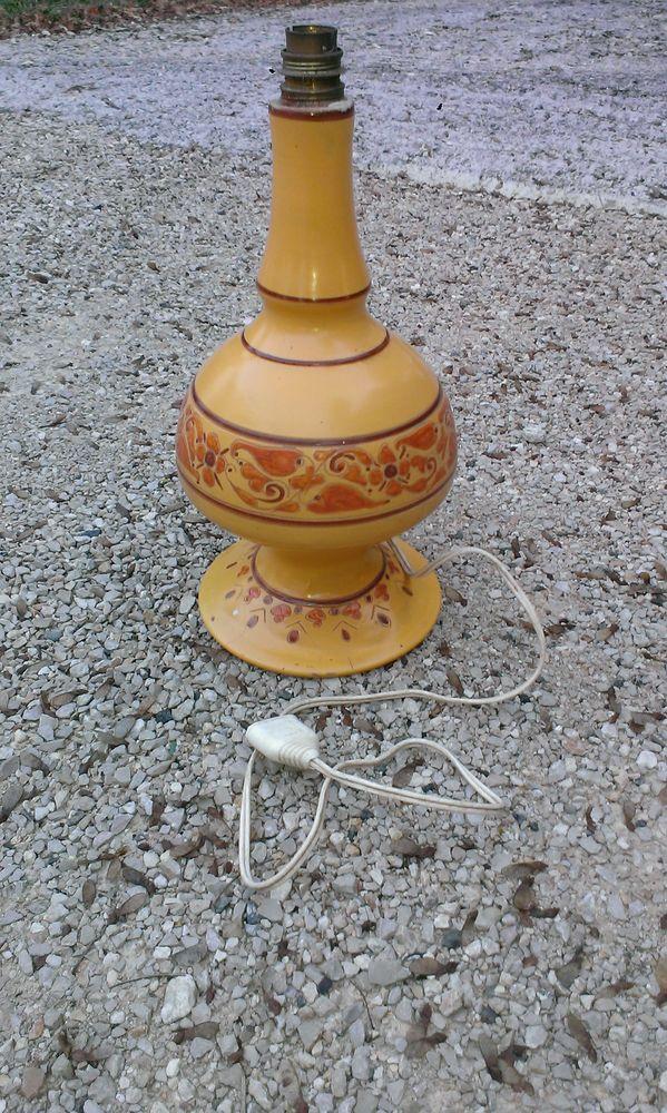 Lampe artisanale faite au tour 12 Cahors (46)