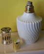 Lampe Berger porcelaine blanche Limoges Issy-les-Moulineaux (92)