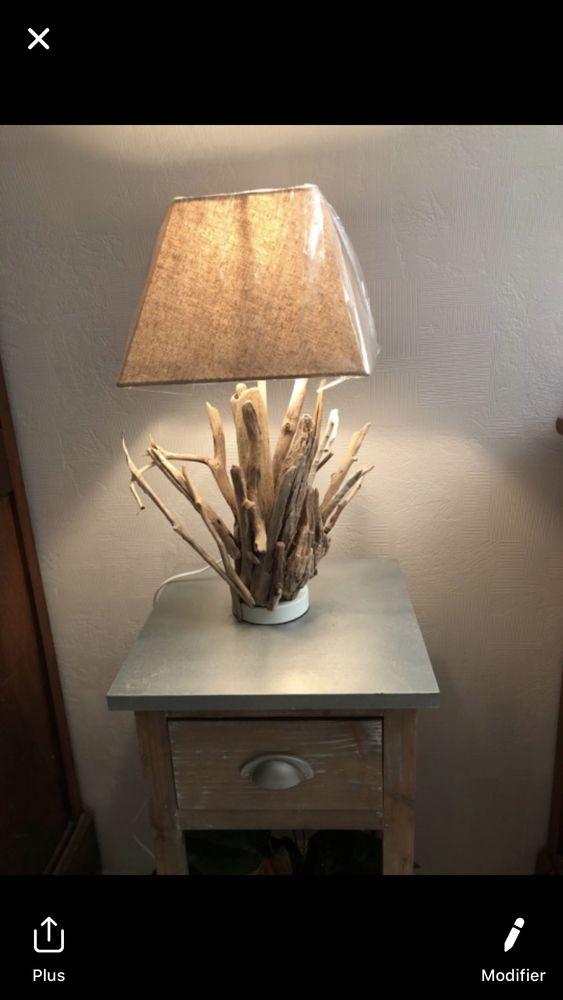 lampe en bois flotté 40 Chilleurs-aux-Bois (45)