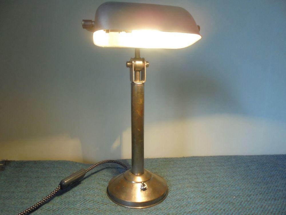 Lampe de bureau, ancien modèle, vintage, tout métal, indus 0 Gujan-Mestras (33)