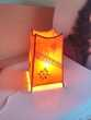 Lampe de chevet artisanale