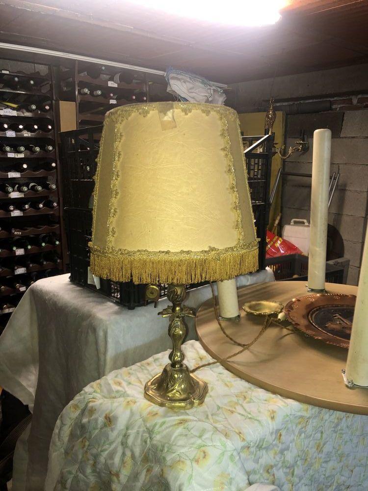 Lampe de chevet en bronze