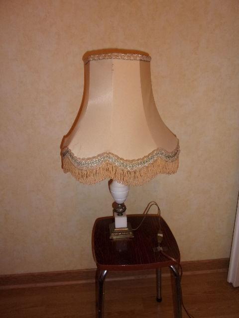 Ou Chevet Bureau Pied Lampe En De Albâtre SqzVMUp