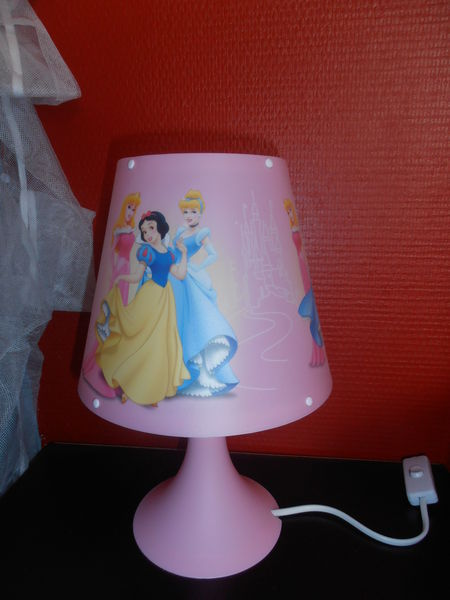 Lampe de Chevet Disney Princesses Rose 15 Saint-Avold (57)