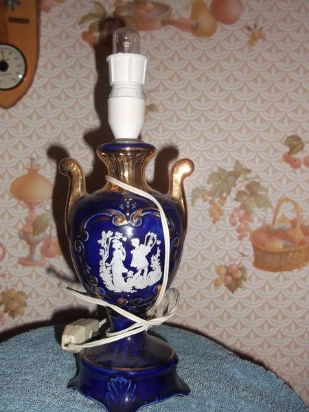 LAMPE DE CHEVET VINTAGE BLEUE ROMANTIQUE 5 Fresnes-sur-Escaut (59)