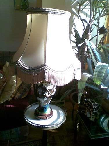 LAMPE CHINOISE PIED EN ÉMAUX CLOISONNÉS 72cm 60 Paris 19 (75)
