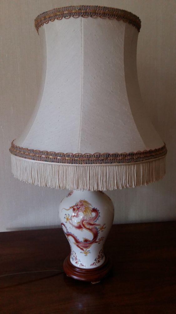 Lampe chinoise à poser 40 L'Isle-Adam (95)
