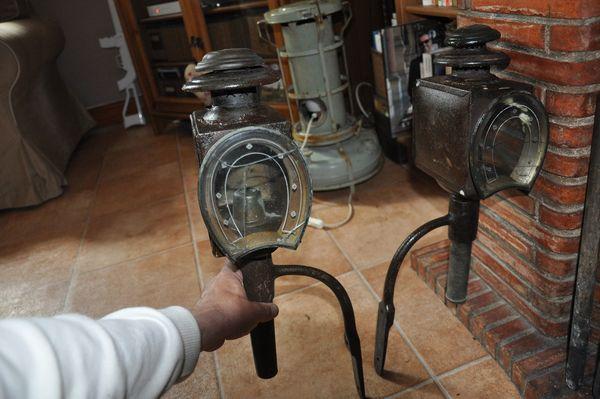 Lampe de cocher Vintage 150 Biarritz (64)