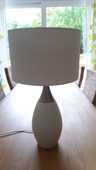 Lampe design blanc et métal 30 Saint-Witz (95)