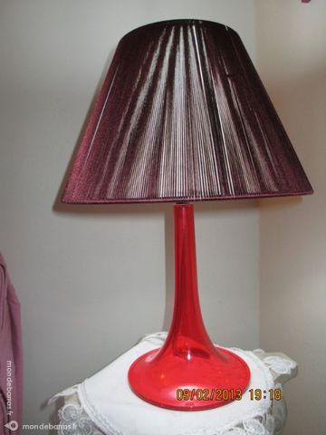 LAMPE DESIGN A POSER MUNO BERTRAND ROUGE 20 Limeil-Brévannes (94)