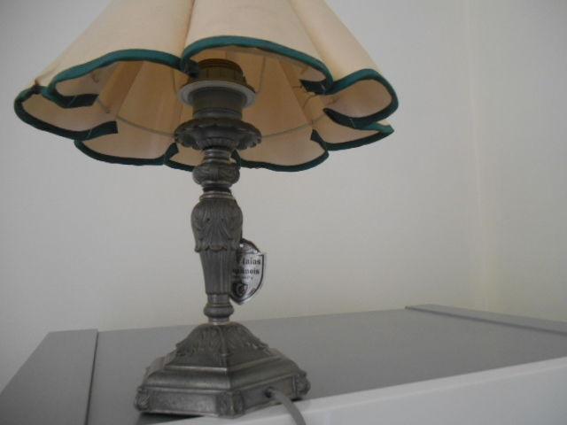 LAMPE EN ETAIN ELECTRIQUE 36 CM MARQUE ETAIN DAUPHINOIS 110 La Rochelle (17)
