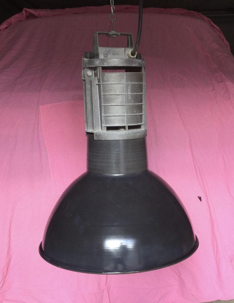 Lampe industrielle ancienne 50 Sens (89)
