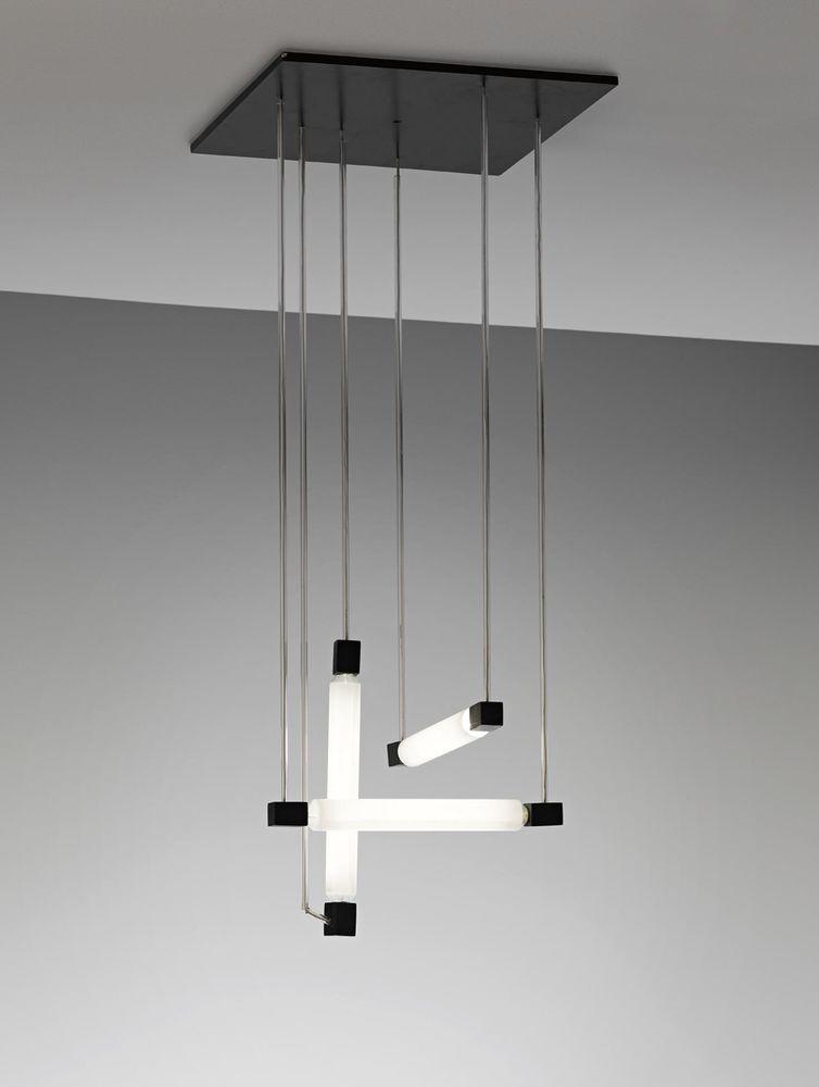 LAMPE LUSTRE de GERRIT RIETVELD Hanging light. Art déco 1930 380 Marseille 13 (13)