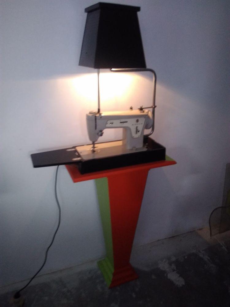Lampe machine à coudre vintage Singer 80 Nice (06)