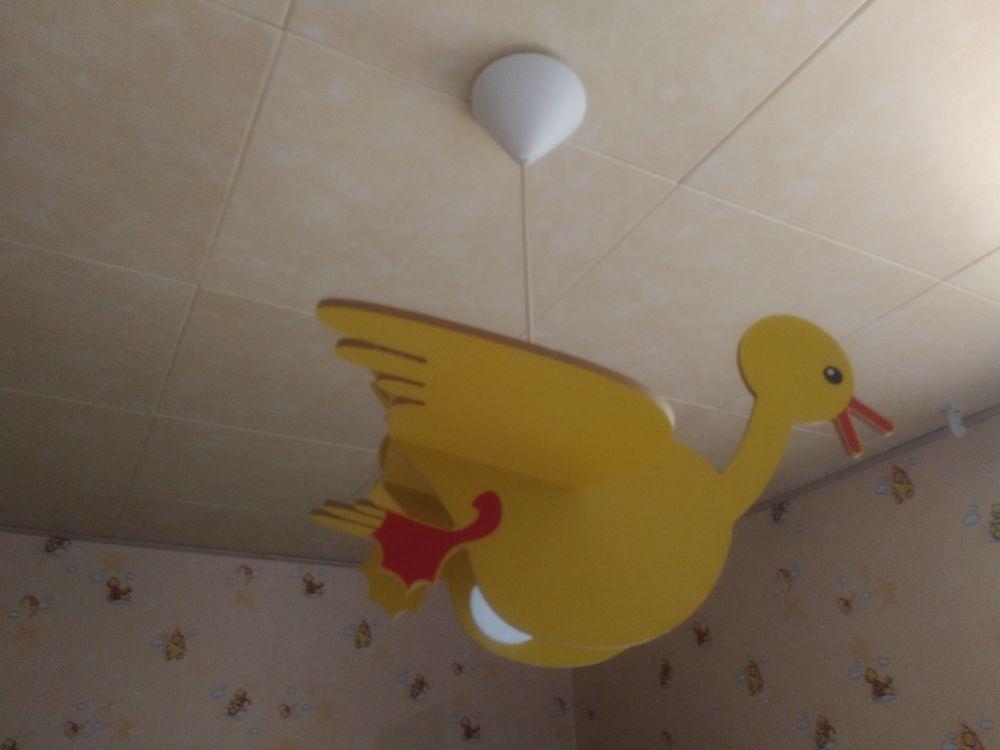 Lampe oiseau en bois pour chambre enfant 5 Saint-Pathus (77)