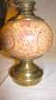 Lampe a pétrole en céramique d'époque Décoration