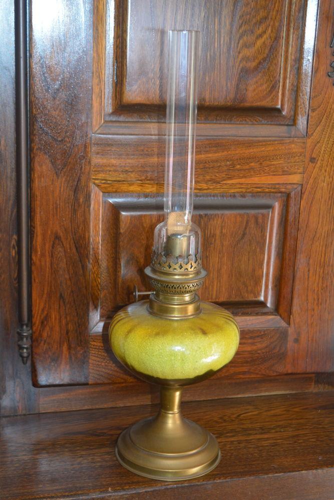 Lampe à pétrole. 15 Pont-Scorff (56)