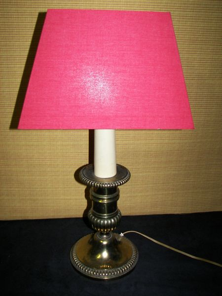 Lampe sur pied en bronze  60 Cagnes-sur-Mer (06)