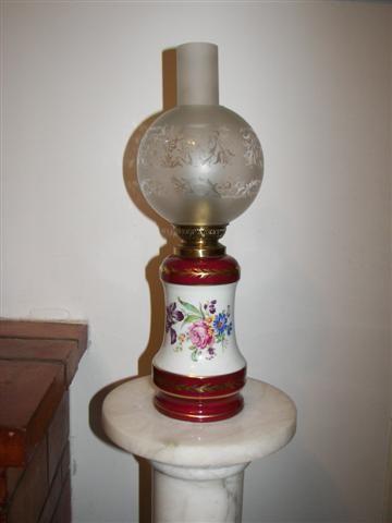 Lampe sur pied porcelaine 70 Cagnes-sur-Mer (06)