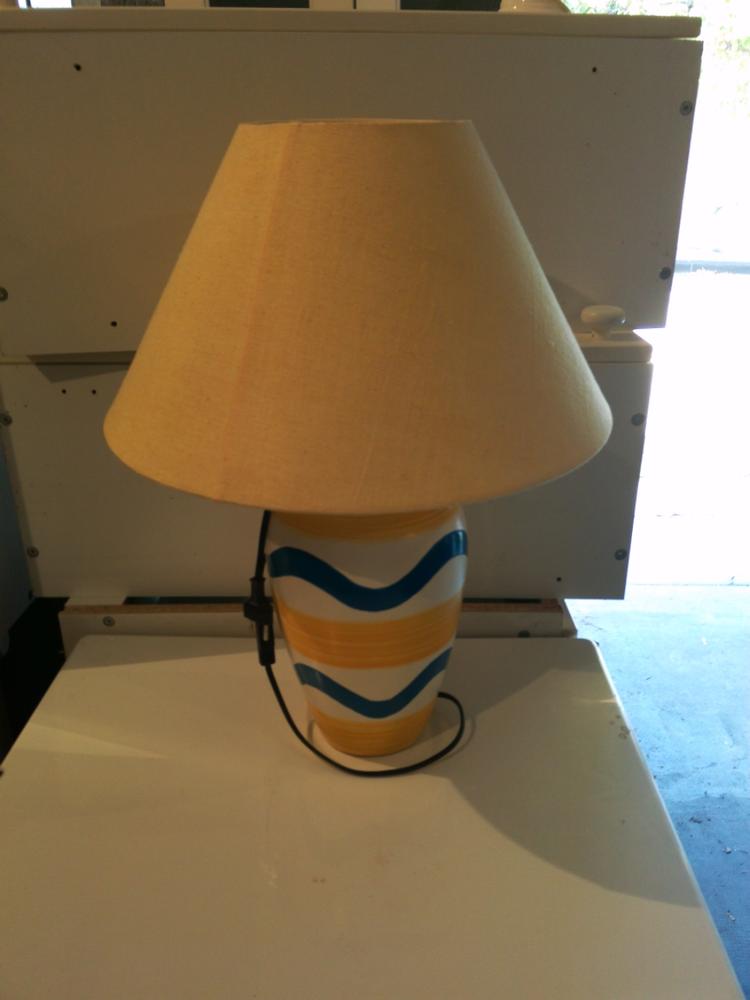 LAMPE pour salon  VINTAGE  20 Marseille 8 (13)