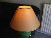 lampe de salon avec pied en colonne vert bronze 20 Nice (06)