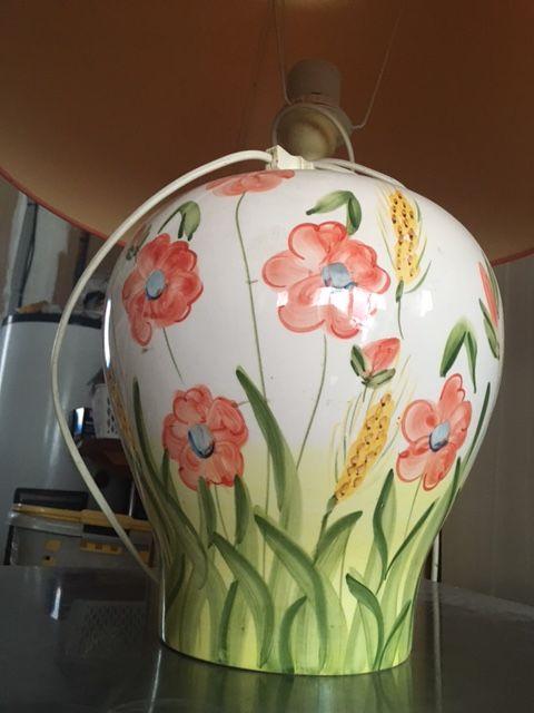 Lampe De Salon En Porcelaine Décoration Provençale 15 Bédarrides (84)
