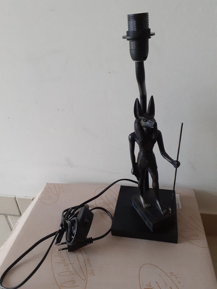 lampe statue Égyptienne 38 Brignais (69)