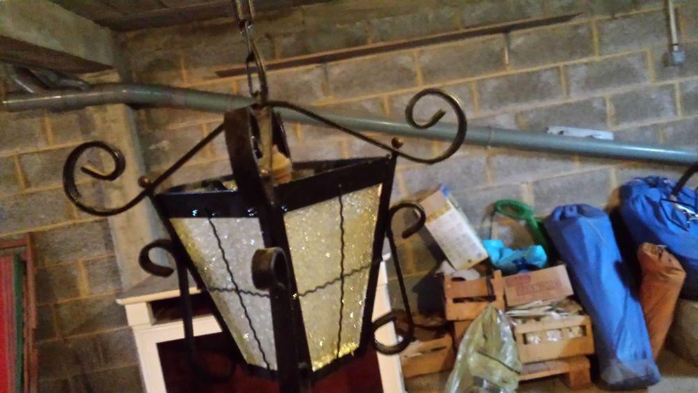 lampe suspension fer forgé vintage 10 Hérouville-Saint-Clair (14)