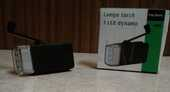 Lampe torche 3 LED dynamo, NEUF 3 Lens (62)