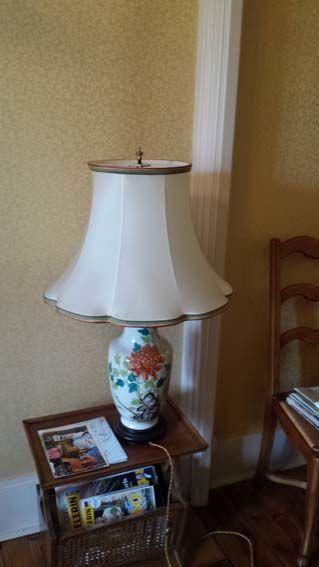 Lampe sur vase Décor peint 15 Grenoble (38)