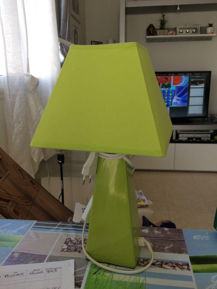 LAMPE VERT ANIS 38 CM 6 La Rochelle (17)