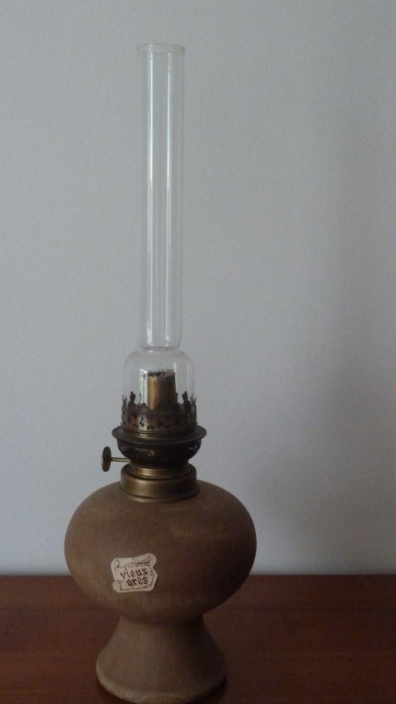 LAMPE EN VIEUX GRES 20 Châteauneuf-les-Martigues (13)