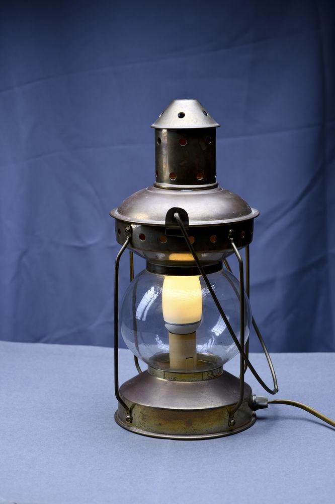 Lampe vintage cuivre 60 Paris 17 (75)