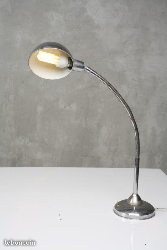 Lampe vintage en metal chromé 1960 30 Paris 15 (75)