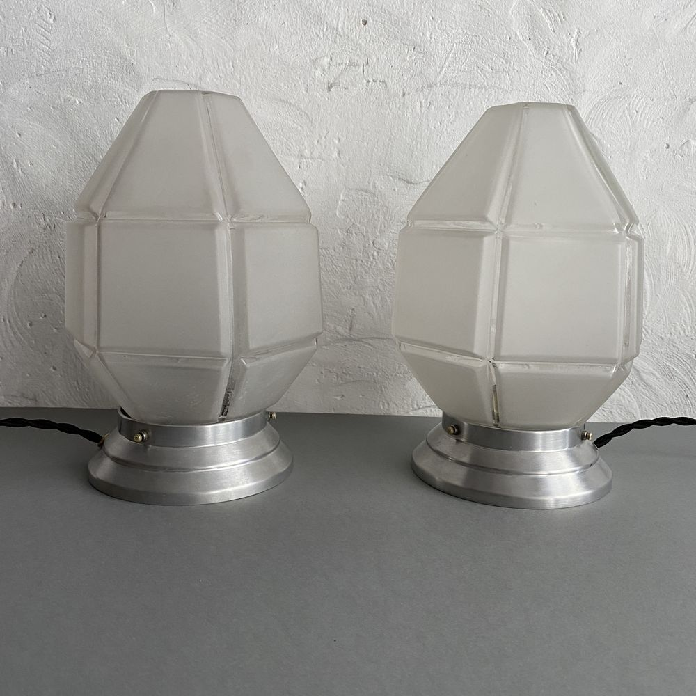 LOT 2 LAMPES DE CHEVET ART-DECO VINTAGE 350 Paris 2 (75)