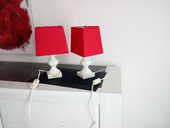 Lot de 2 Lampes de chevet , pied en albâtre  10 Soullans (85)