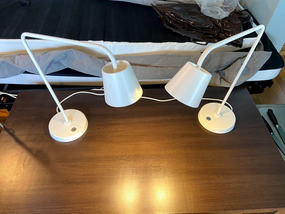 2 lampes de chevet 50 Pantin (93)