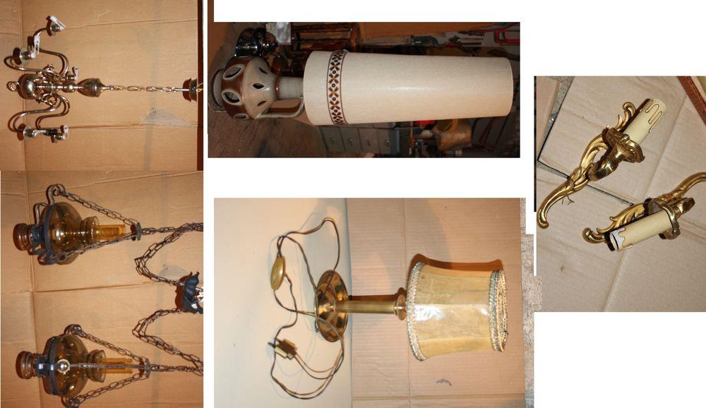 Lot de lampes Décoration